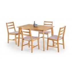 Valgomojo komplektas CORDOBA + 4 kėdės