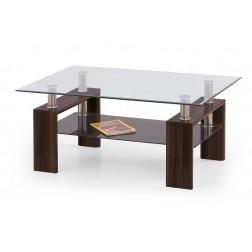 Kavos staliukas DIANA, 120/70/50 cm, ruda