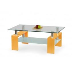 Kavos staliukas DIANA, 110/60/45 cm, geltona