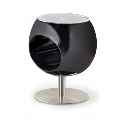 Kavos staliukas DONNA, 46/57 cm, juoda