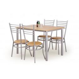 Valgomojo komplektas ELBERT + 4 kėdės