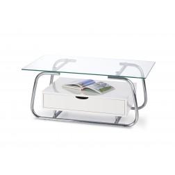 Kavos staliukas EMU, 100/60/45 cm, balta