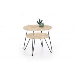 Kavos staliukas EZRA, 60/52 cm, medis