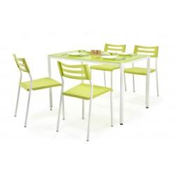 Valgomojo komplektas FIGARO + 4 kėdės