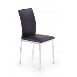Metalinė kėdė K137, 43/49/92 cm, juoda
