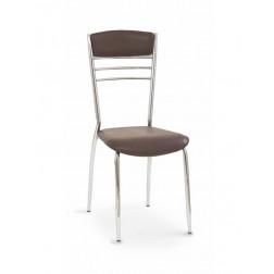 Metalinė kėdė K48, 38/45/85 cm, ruda