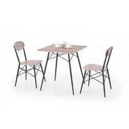 Valgomojo komplektas KABIR + 2 kėdės