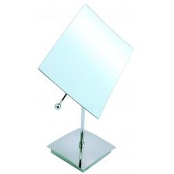 Kosmetinis veidrodis Serres, pastatomas , chromas  , 5x didinimas