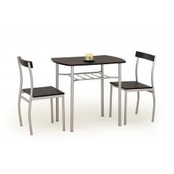 Valgomojo komplektas LANCE + 2 kėdės