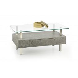 Kavos staliukas MARGOT, 100/50/42 cm, pilka