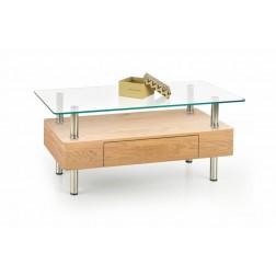 Kavos staliukas MARGOT, 100/50/42 cm, medis