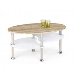 Kavos staliukas MEDEA, 90/50/45 cm, medis