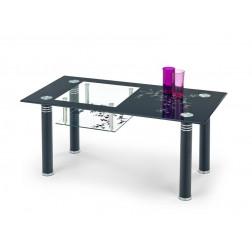 Kavos staliukas MONROE, 100/50/43 cm, juoda