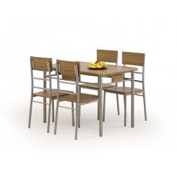 Valgomojo komplektas NATAN + 4 kėdės