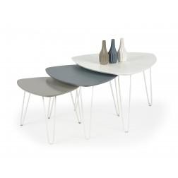 Kavos staliukas NIKITA, 55/55/40 cm, smėlio