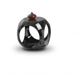 Kavos staliukas NONO, 40/40/42 cm, juoda