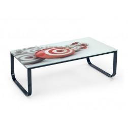 Kavos staliukas PANDORA, 105/55/32 cm, juoda