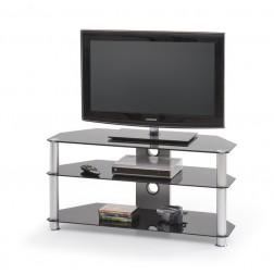 TV staliukas RTV-3, 100/40/51 cm, juoda