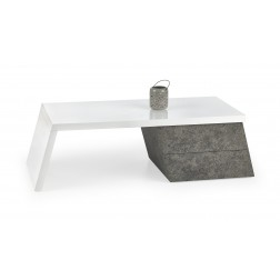 Kavos staliukas SEDIA, 120/60/40 cm, balta