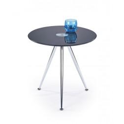 Kavos staliukas SIENA, 49/50 cm, juoda
