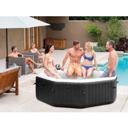 SPA baseinas aštuonkampis Intex PureSpa Jet and Bubble Deluxe Massage 6 žmonėms