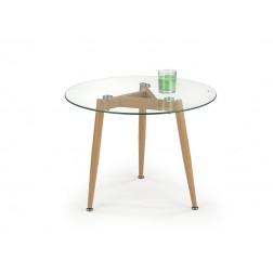 Kavos staliukas SPECTRA, 60/45 cm, medis