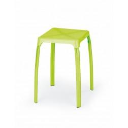 Metalinė kėdė TICO, 32/32/45 cm, laimo