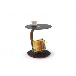 Kavos staliukas WENDY, r45/48 cm, juoda