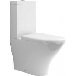 Kombi WC Aquatech pastatomas unitazas su nuleidimo mechanizmu