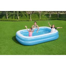 2.62m x 1.75m x 51cm Bestway stačiakampis pripučiamas baseinas Familiy Pool
