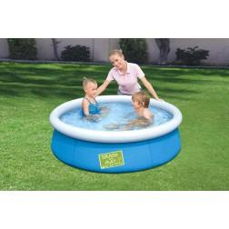 1.52m x 38cm Bestway apvalus pripučiamas baseinas FAST SET™ My First Pool