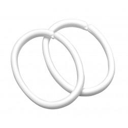 Sealskin Clips plastikiniai dušo užuolaidų žiedai - įvairių spalvų