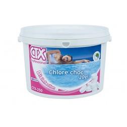 Chloras greitai tirpstantis CTX-250  įpok. 1 kg 20gr tab.