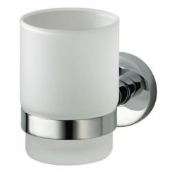 Kosmos Chrome vienguba stiklinė su laikikliu