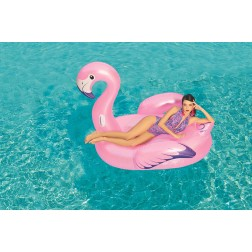 "Plaustas ""Flamingas"" Bestway 1.73m x 1.70m Luxury Flamingo"