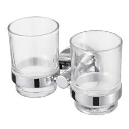 PRO2000 dviguba stiklinė su laikikliu