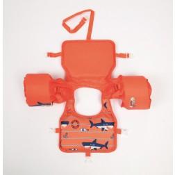 Vaikiška plaukimo liemenė Bestway - SWIM PAL, oranžinė