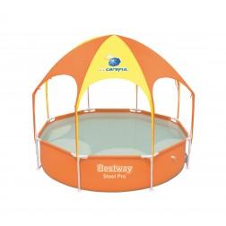 Baseinas vaikams Bestway 2.44m x 51cm Splash-in-Shade