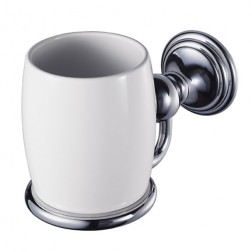 Allure viengubas porcelianinis puodelis su laikikliu