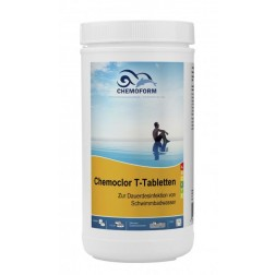Lėto tirpimo chloro tabletės Chemoform 1kg po 20 gr.