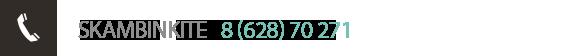 Savona tel.  8 (628) 70 271