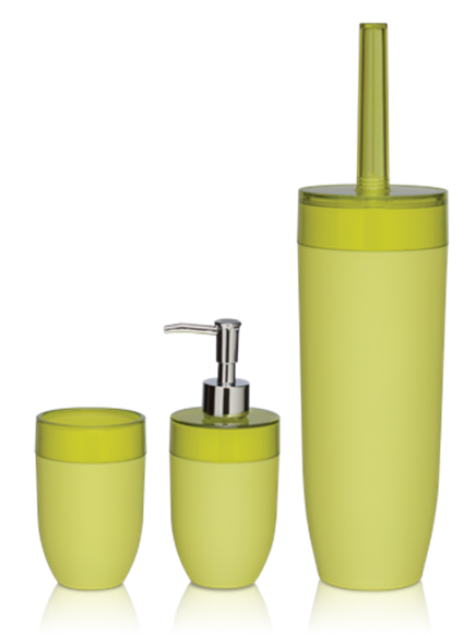 Sealskin Boom geltoni vonios kambario aksesuarai