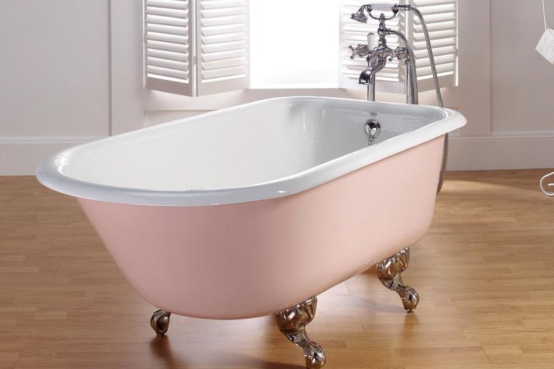 Emaliuota ketaus vonia